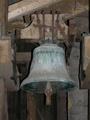 Zvon ve věži kostela (2016, rb)