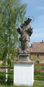 Socha sv. Jana Nepomuckého (Zlonice, Česko)