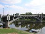 Most T.G. Masaryka (Kralupy nad Vltavou, Česko)